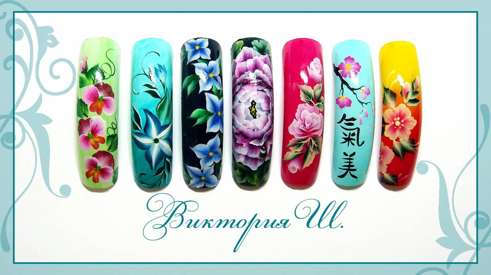 Роспись ногтей в домашних условиях - allWomens 65